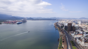 Porto de Santos começa 2018 batendo recorde na movimentação de cargas: 8,99 milhões em janeiro