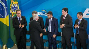Marcos Jorge toma posse como ministro da Indústria, Comércio Exterior e Serviços